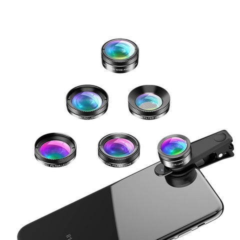 Phone Camera Lens Creative Package Triangle View