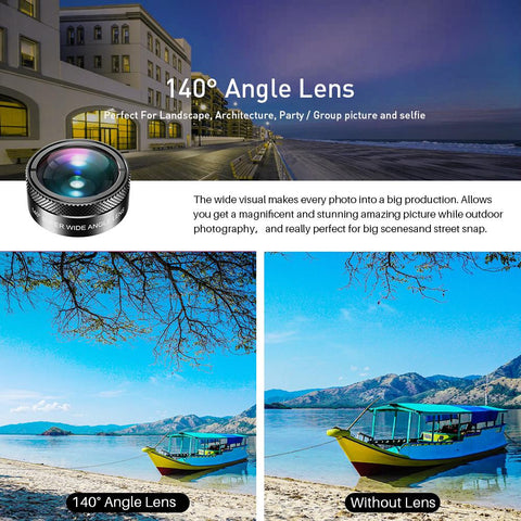 Phone Camera Lens Creative Package Wide Angle