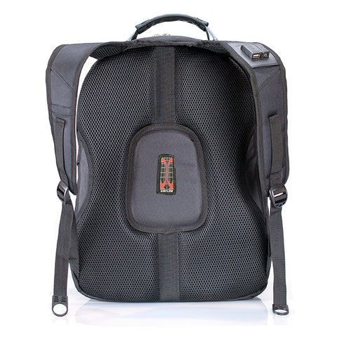 Swiss Travel Laptop Backpack Backside View