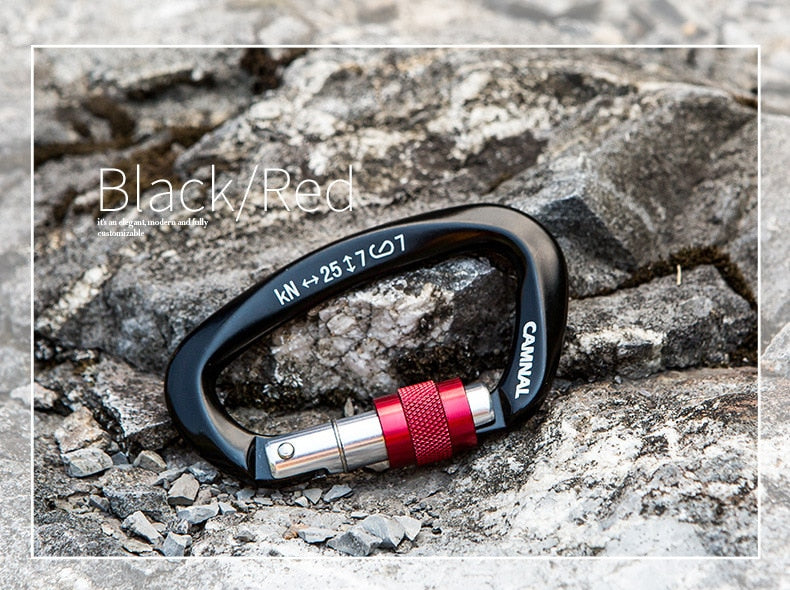 Professional Carabiner D Shape 25KN