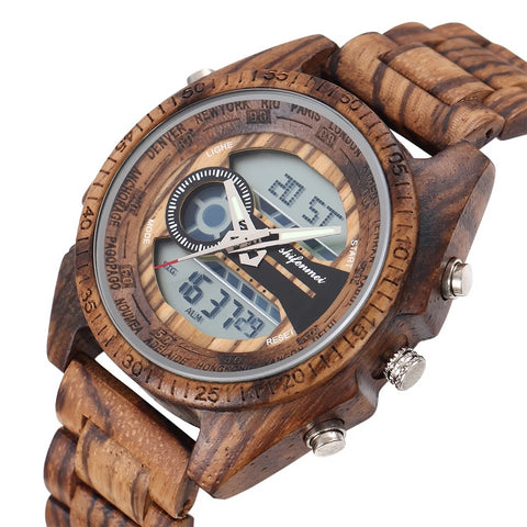 Classy Wood Watch | Modern Display