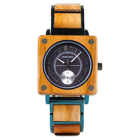 Classy Wood Watch | Square Special
