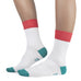 BRUNO | White Cotton Dress Socks