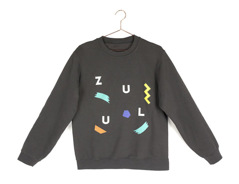 Zulu sweater - dark grey