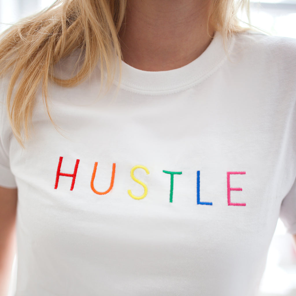 Buy HUSTLE HARD T-SHIRT