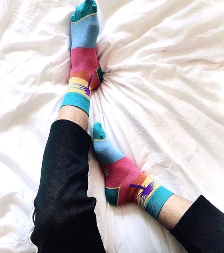 Instagram summer socks
