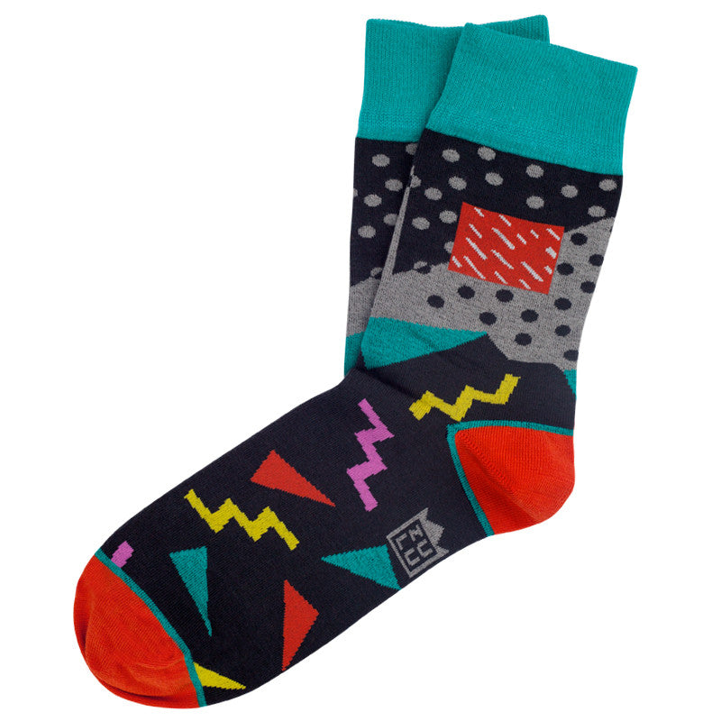 80s fashion socks