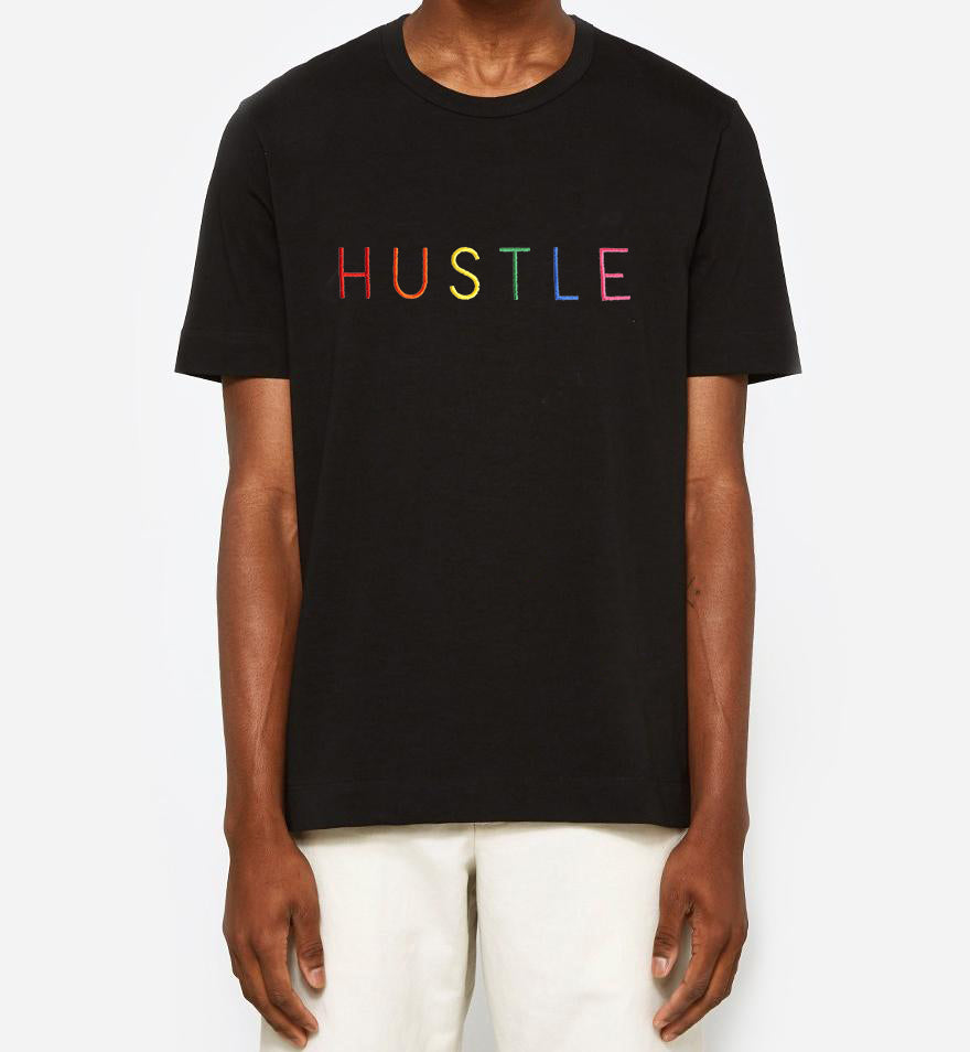 HUSTLE T-Shirt | Black | Unisex Hustle Tee