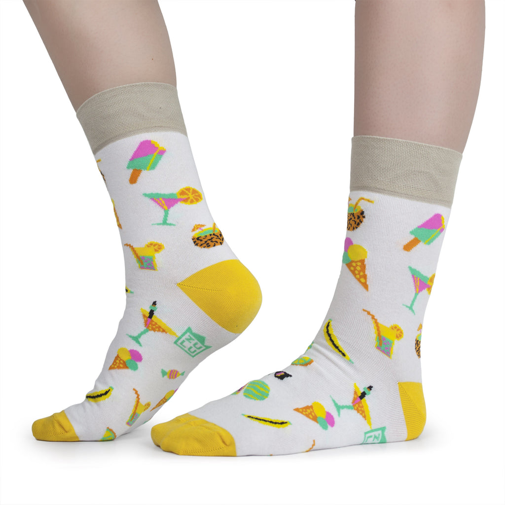 Fashion pattern socks