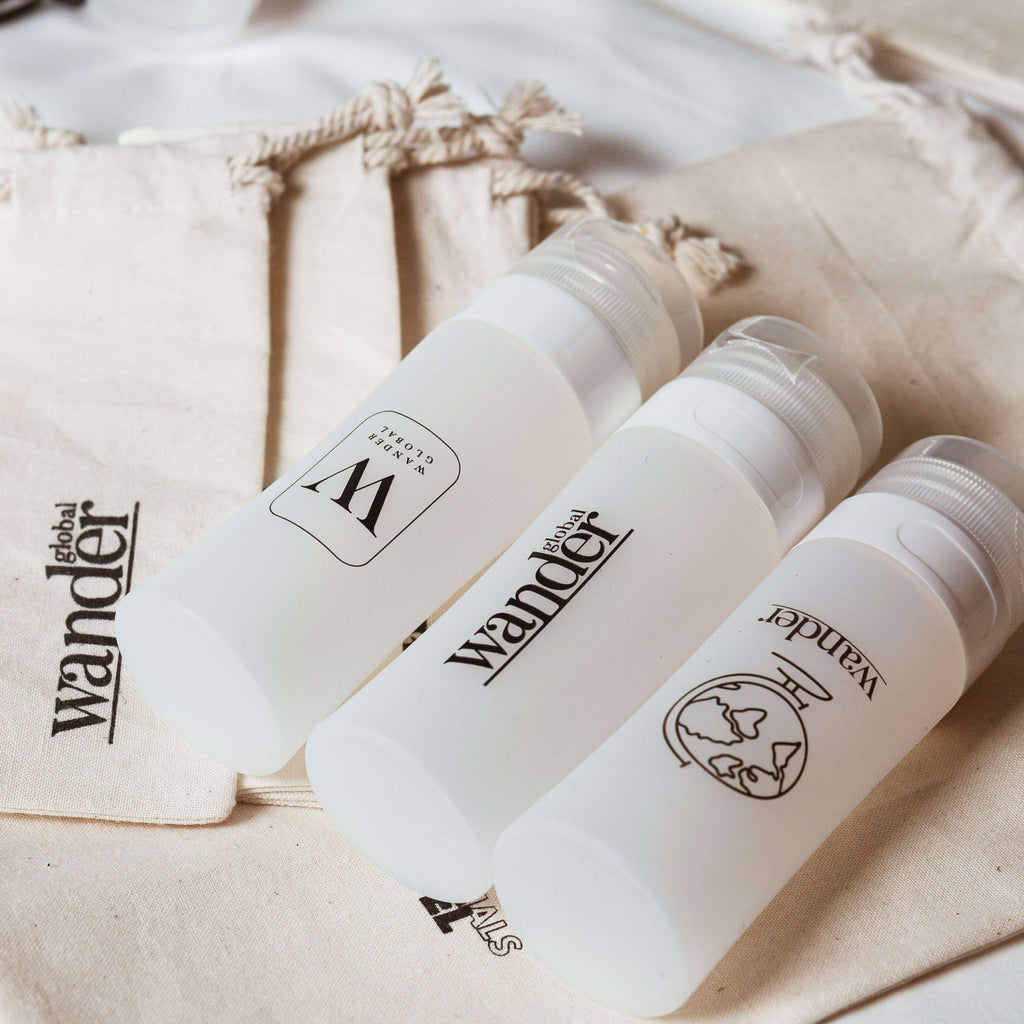 Wander Silicone Bottles Set - Wander Global (Thailand)