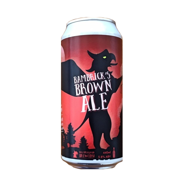 Ballykilcavan Bambricks Brown Ale (440ml / 5.8%) (4590372683822)