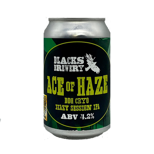Blacks Brewery Ace Of Haze DDH Cryo Hazy Session IPA (330ml / 4.2%) (4663827464238)