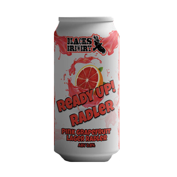 Blacks Brewery Ready Up Radler – Pink Grapefruit Lager Radler (440ml / 3.8%) (4605706403886)