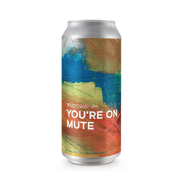 Boundary Brewing You're On Mute – West Coast IPA (440ml / 6.0%) (4712168390702)