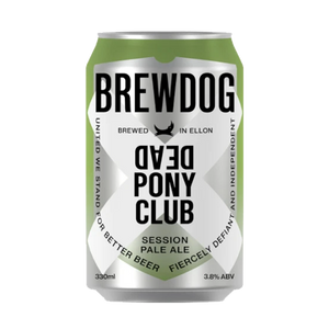 Brewdog Dead Pony Club Session Pale Ale (330ml / 3.8%) (4590504869934)