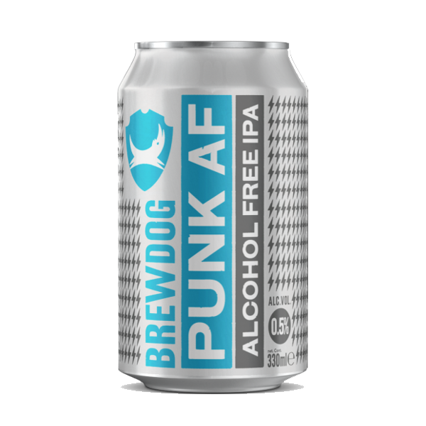 Brewdog Punk AF Alcohol Free IPA (330ml / 0.5%) (4590561755182)