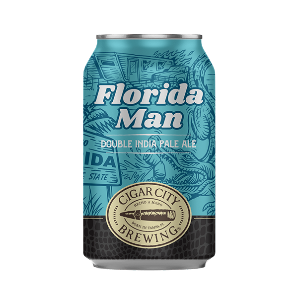 Cigar City Brewing Florida Man Double IPA (355ml / 8.5%) (4646001311790)
