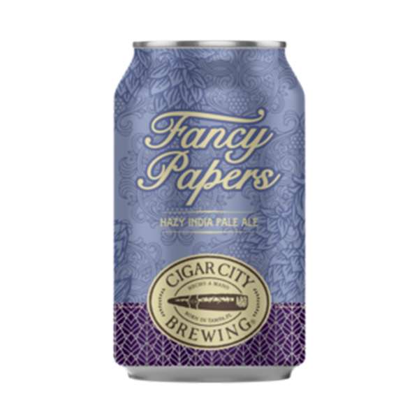 Cigar City Brewing Fancy Papers Hazy IPA (355ml / 6.5%) (4631276126254)