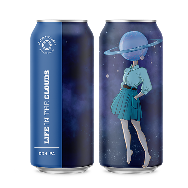 Collective Arts Life In The Clouds DDH IPA (473ml / 6.1 %) (4715196383278)