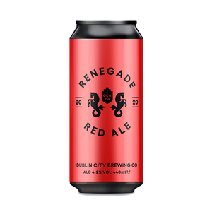 Dublin City Brewing Co Renegade Red Ale (440ml / 4.2%) (4663860363310)