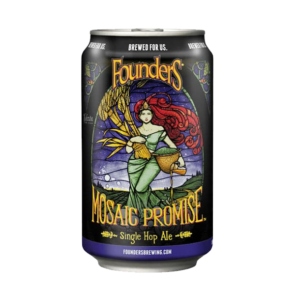 Founders Mosaic Promise Single Hop Ale (355ml / 5.5%) (4588746244142)