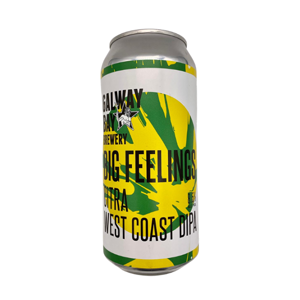 Galway Bay Brewery Big Feelings Citra West Coast DIPA (440ml / 8.5%) (6545230790702)