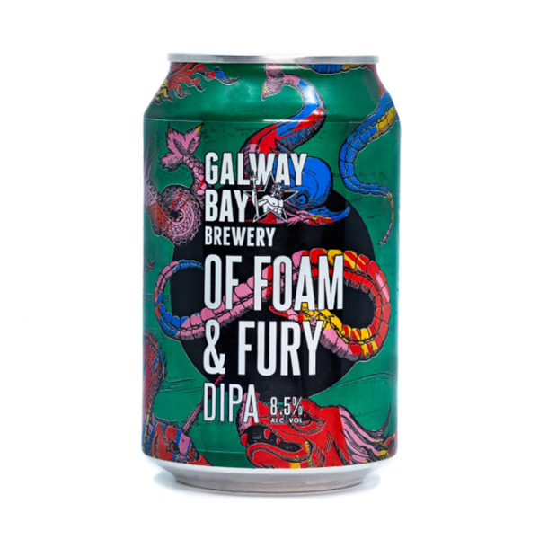 Galway Bay Brewery Of Foam And Fury Double IPA (330ml / 8.5%) (4671443206190)