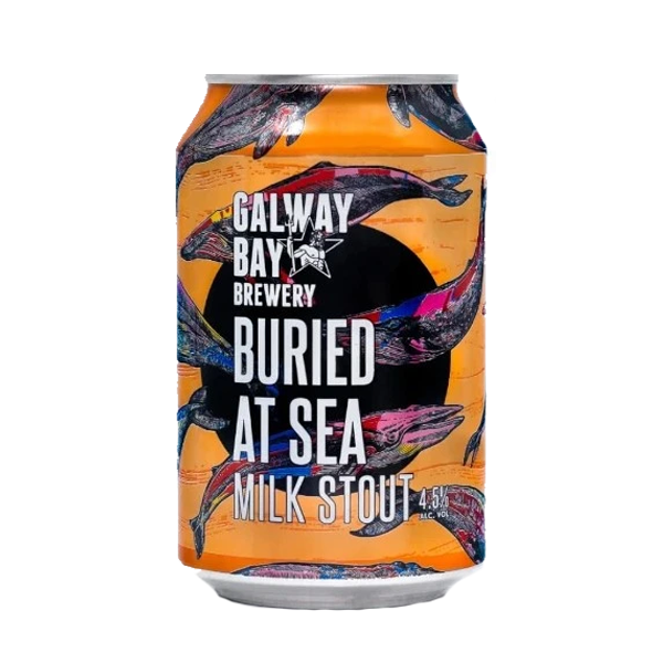 Galway Bay Buried At Sea Milk Stout (330ml / 4.5%) (4587184914478)