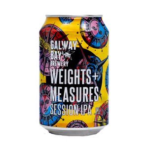 Galway Bay Weights and Measures Citra Session IPA (4587179835438)