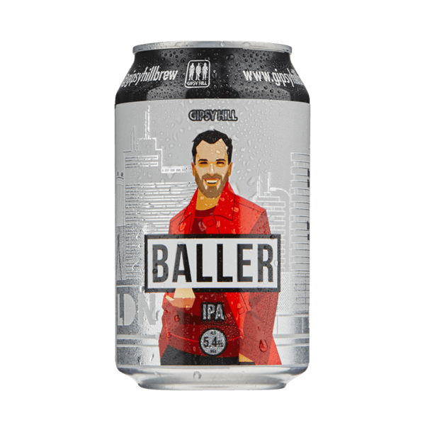 Gipsy Hill Baller IPA (330ml / 5.4%) (4605711941678)