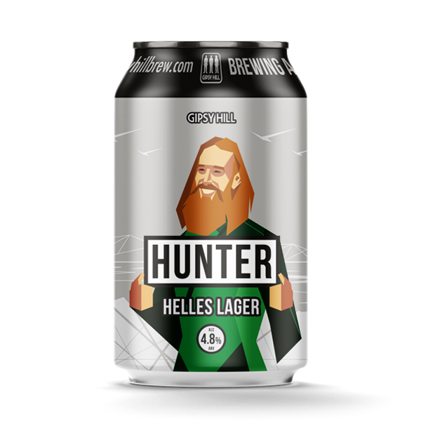 Gipsy Hill Hunter Helles Lager (330ml / 4.8%) (4605712924718)
