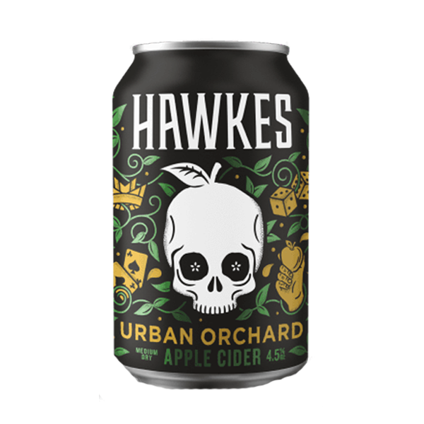 Hawkes Cider – Urban Orchard Apple Cider (330ml / 4.5%) (4604554838062)