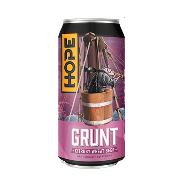 Hope Grunt Citrusy Wheat Beer (4588757155886)