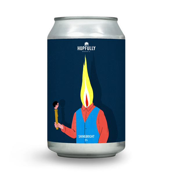Hopfully Brewing Shinebright NEIPA (330ml / 6%) (4666184400942)