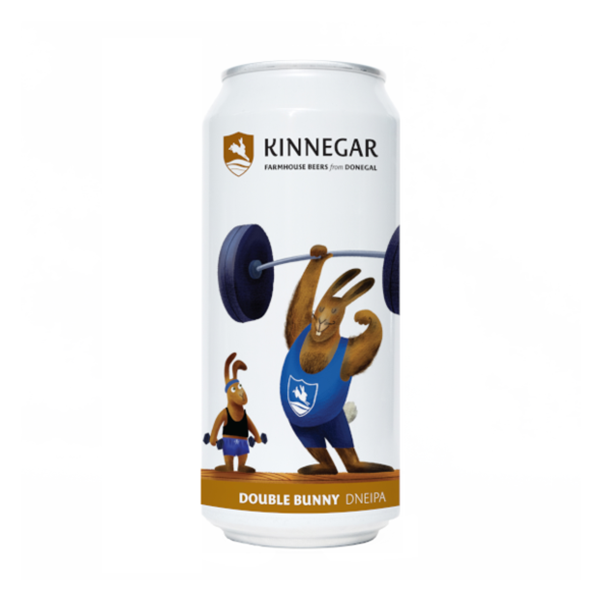 Kinnegar Brewing Double Bunny Double New England IPA (440ml / 7.8%) (4710041550894)