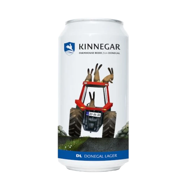 Kinnegar DL Donegal Lager (440ml / 4.5%) (4604631941166)
