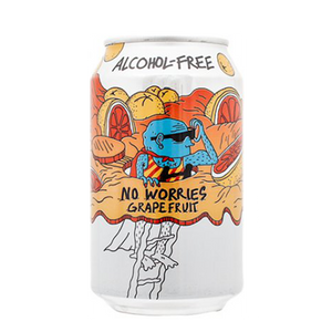 Lervig No Worries Alcohol Free Grapefruit IPA (330ml / 0.5%) (4641209778222)