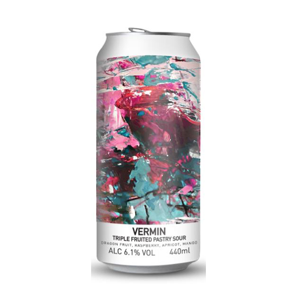 Lough Gill Brewing Vermin Triple Fruit Pastry Sour (440ml / 6.1%) (4712178286638)