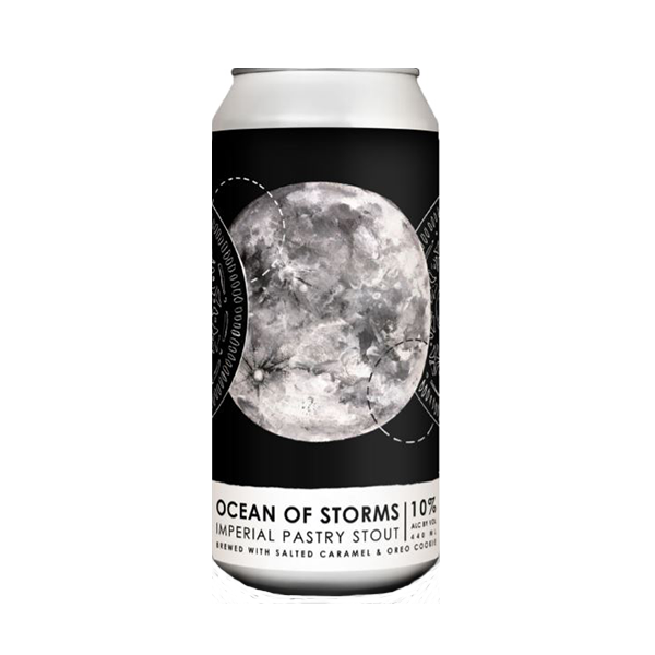 Lough Gill Brewing x Wicklow Wolf Ocean Of Storms Imperial Pastry Stout Brewed With Salted Caramel And Oreo Cookies (440ml / 10%) (4697561989166)