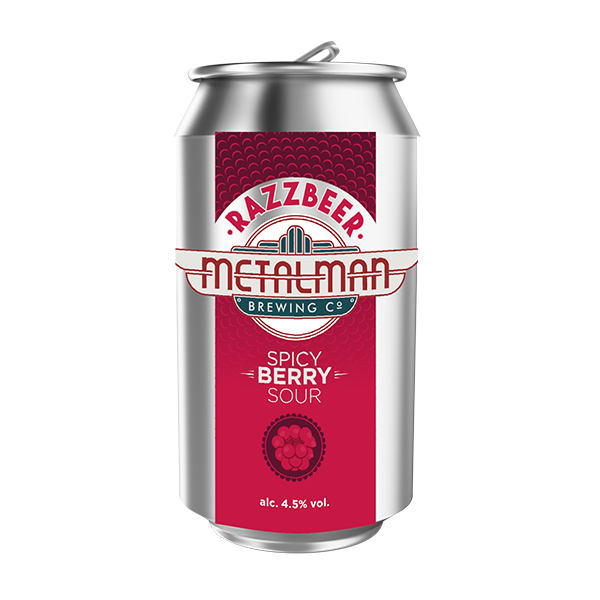 Metalman Razzbeer Spicy Berry Sour (330ml / 4.5%) (4715140579374)