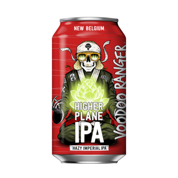 New Belgium Voodoo Ranger Higher Plane Hazy Imperial IPA (355ml / 8.5%) (4661080916014)