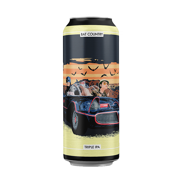 O Brother Brewing Bat Country Triple IPA (440ml / 10.4%) (4678331498542)
