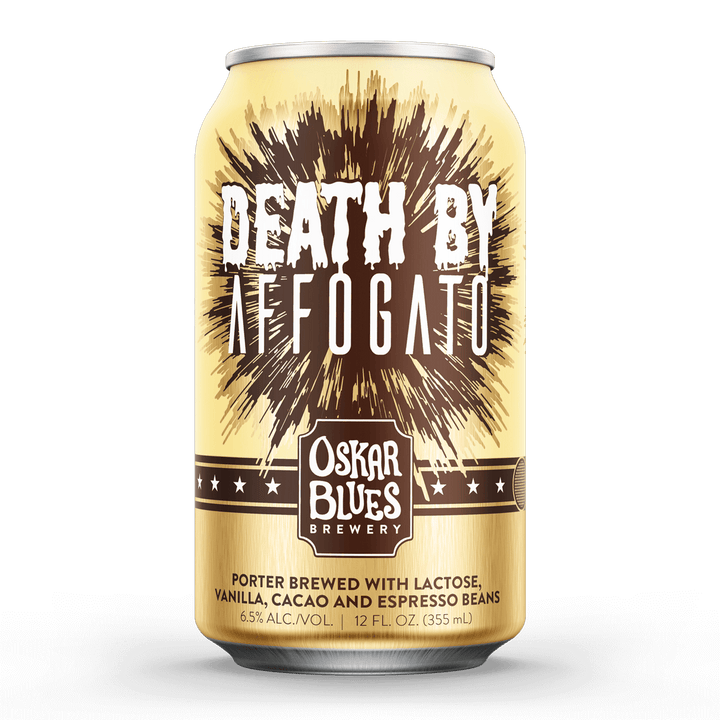 Oskar Blues Death By Affogato Porter (355ml / 6.5%) (4605713776686)
