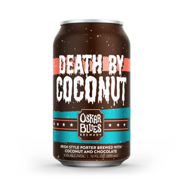 Oskar Blues Death By Coconut Irish Style Porter Brewed With Coconut & Chocolate (355ml / 6.5%) (4691527893038)