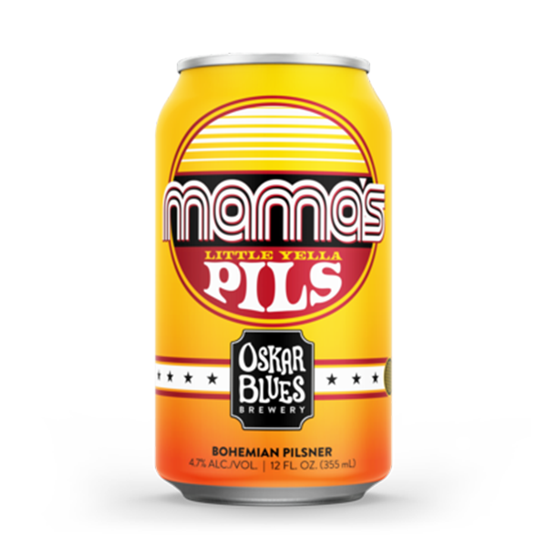 Oskar Blues Mama's Little Yella Pils (355ml / 4.7 %) (4715193499694)