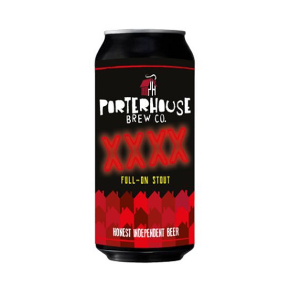 Porterhouse Brew Co XXXX Full On Stout (440ml / 5%) (4673476722734)