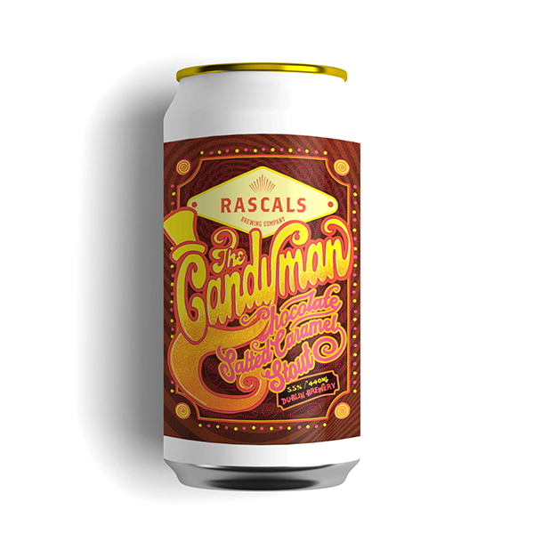 Rascals Brewing The Candyman Chocolate Salted Caramel Stout (440ml / 5.5%) (4673248264238)