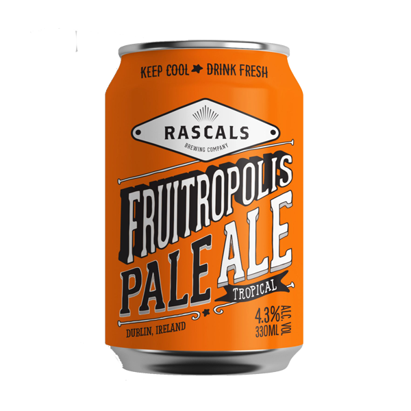 Rascals Fruitropolis Pale Ale (330ml / 4.3%) (4590566604846)
