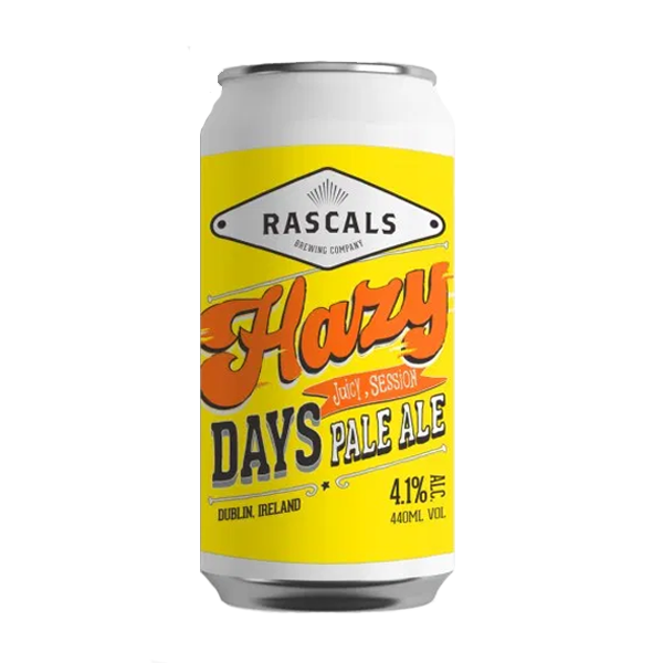 Rascals Hazy Days Juicy Session Pale Ale (440ml / 4.1%) (4605715415086)