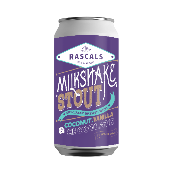 Rascals Milkshake Stout with Coconut, Vanilla & Chocolate (330ml / 4.6%) (4717660405806)